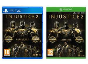 Injustice 2 Legendary Edition (PS4 / Xbox One) - £14.85 delivered @ Base