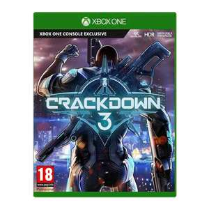 Crackdown 3 Xbox One for £10.99 Free C&C Only  @ SmythsToys
