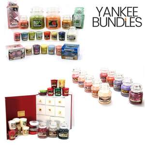 10% Off A £20+ Spend With Free Delivery @ Yankee Bundles with code - EG: 6 Piece Assorted Spring Summer Mega Selection Box £36