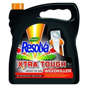 Resolva xtra tough 3l weedkiller £3 @ Wilko