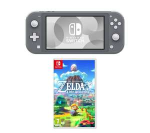 NintendoSwitch Lite:The Legend of Zelda Links Awakening Bundle-Grey/Yellow/Turquoise (More in OP) £197.10 with code Delivered @ Currys Ebay