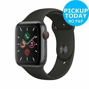 Apple Watch S5 Cellular GPS 44mm 32GB Smart Watch - Space Grey Alu/Black Band - £476.10 with code @ Argos eBay