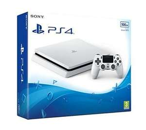 Sony PlayStation 4 Slim 500GB Console Glacier White new boxed + free game