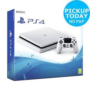 Sony PlayStation PS4 Slim 500GB Console - Glacier White £188.99 @ Argos eBay