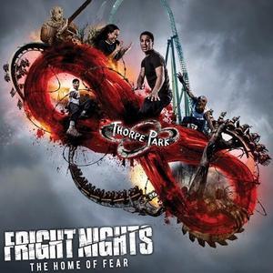 Thorpe Park Fright Night - Pass £33 at Bauer Media