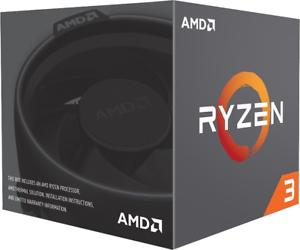 AMD Ryzen 3 1200 3.1GHz Quad Core AM4 CPU+Heatsink & Fan Included for £45.87/AMD Ryzen 5 3600 3.6GHz Hexa Core for £176.62@ CCLONLINE / Ebay