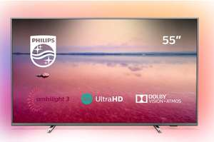 """PHILIPS Ambilight 55PUS6754/12 55"""" Smart 4K Ultra HD HDR10+ LED TV - £494.10 Delivered with code @ Currys eBay"""