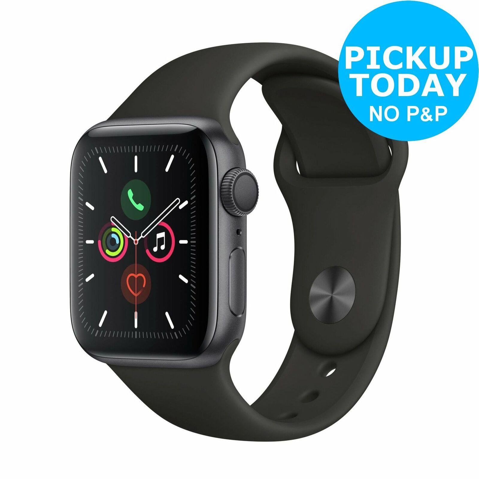 Apple Watch S5 GPS 40mm Smart Watch - Space Grey Alu/Black Band £359.10 at Argos eBay