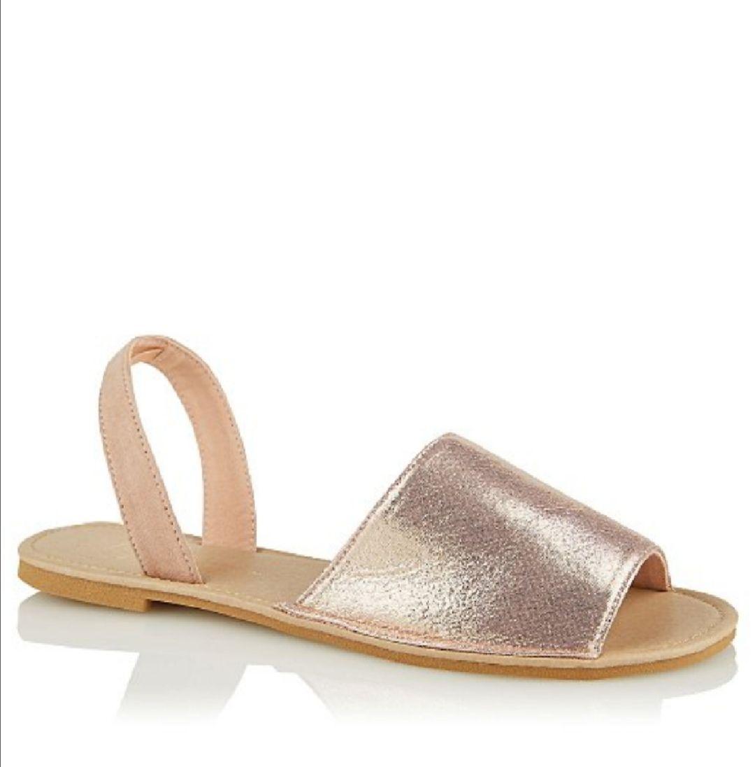 Open Toe Shimmering Sandals RTC £3 Asda George - free c&c