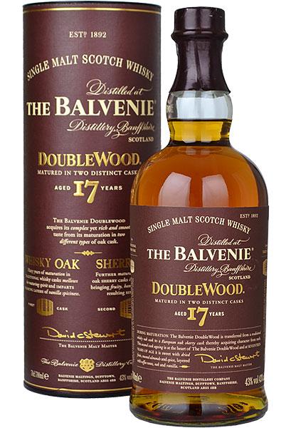 Balvenie Doublewood 17yr old Single Malt Scotch Whisky 70cl £50 in Sainsbury's