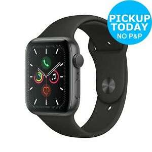 Apple Watch S5 GPS 44mm 32GB Smart Watch - Space Grey Alu/Black Band £386.10 Argos eBay