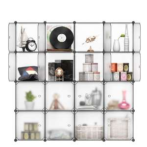 16 Cube Interlocking Modular Plastic Wardrobe Cabinet With Doors t £19.80 Delivered Sold by Shopping Man and Fulfilled by Amazon