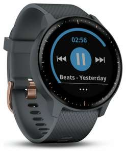 Garmin Vivoactive 3 Music Touchscreen Smart Watch-Rose Gold/Granite Blue £161.99 at Argos eBay with code and click and collect