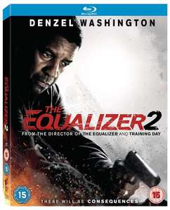 The Equalizer 2 Blu Ray (Denzel Washington) £4 at zoom