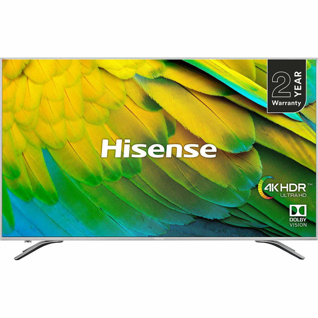 Hisense H75B7510UK B7510 75 Inch TV Smart 4K Ultra HD LED Freeview HD 4 HDMI with code £924 @ AO-Ebay