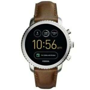 refurbished Grade A- Fossil Explorist Gen 3 Smart Watch Brown Leather iOS Android GPS Original Box £65.70 @  sapphire.1 / Ebay