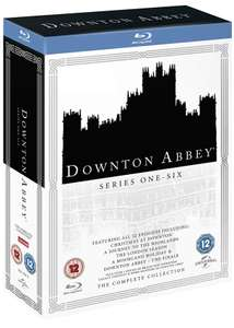 Downton Abbey Complete Collection Bluray (52 episodes) £29.99 at Amazon