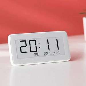 Xiaomi Mija Temperature Humidity Monitoring Electronic clock - Milk White £13.15 @ Gearbest