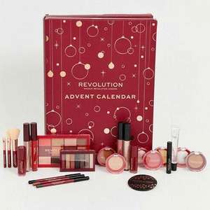 2019 Revolution Advent Calendar with 24 products £30 with free delivery from ASOS