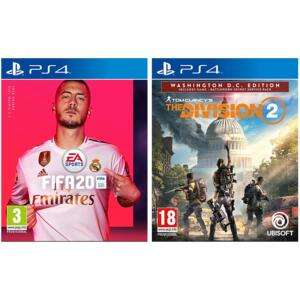 The division 2 Washington DC edition £10 when bought with FIFA 20 (£49.99) @ Game instore