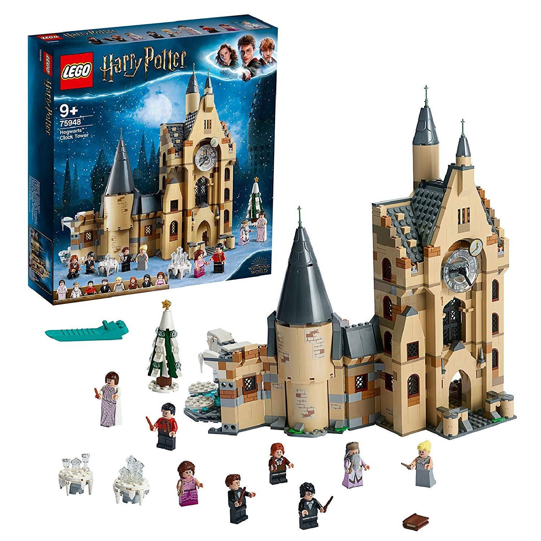 LEGO Harry Potter Hogwarts Clock Tower 75948  £61.28 using 10% off eBay code (Free click & collect) @ Argos / Ebay