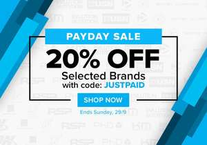 20% OFF selected brands at BodyBuilding.com