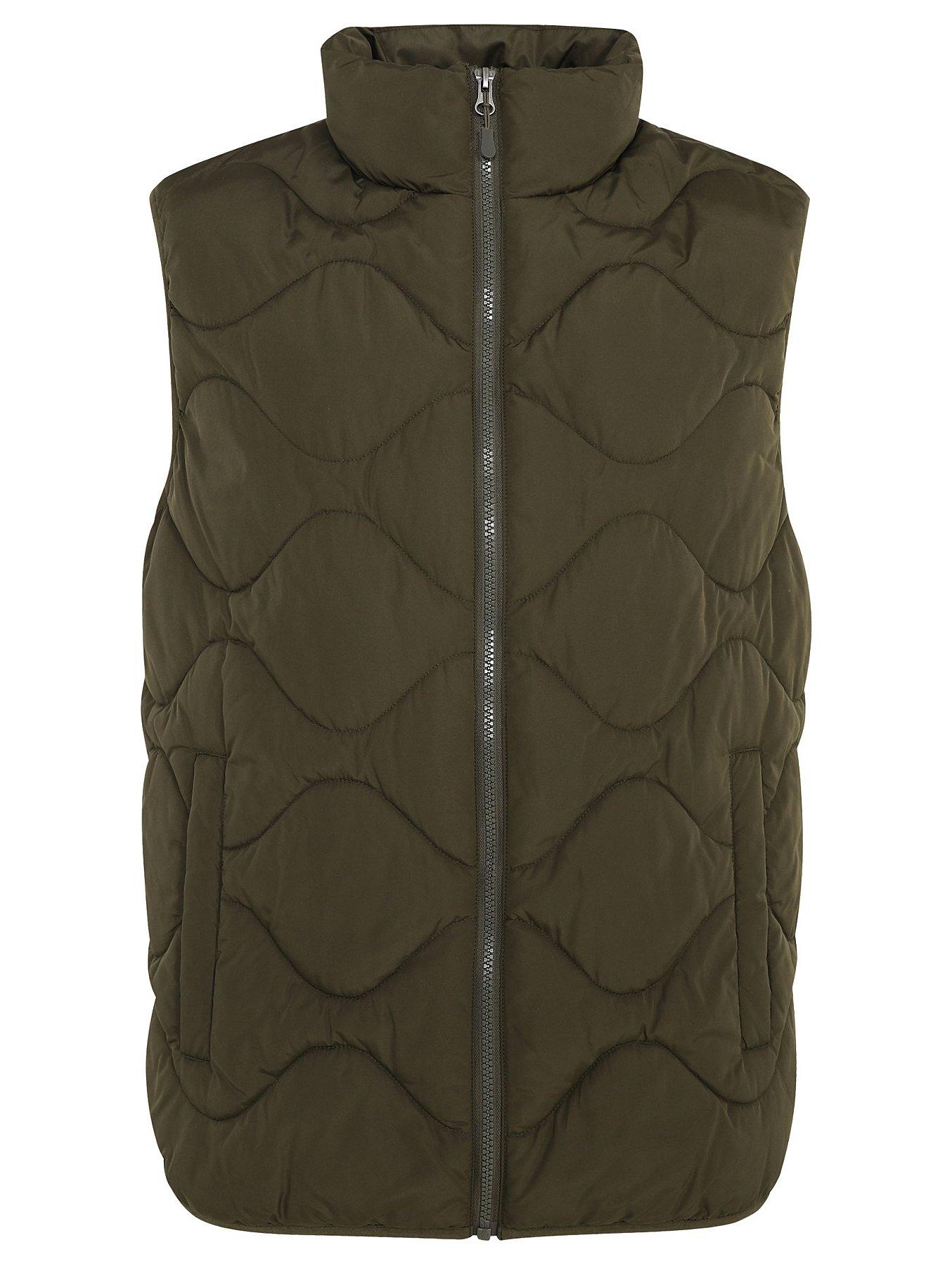 Khaki Padded Gilet in Medium, Large - £5 @ George Asda Free C&C