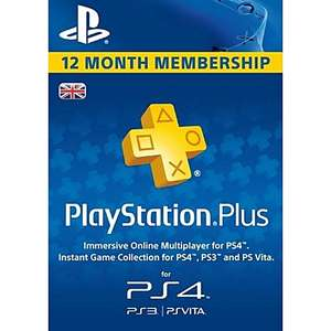 PlayStation Plus - 12 Month Subscription UK - £39.79 @ CDKeys