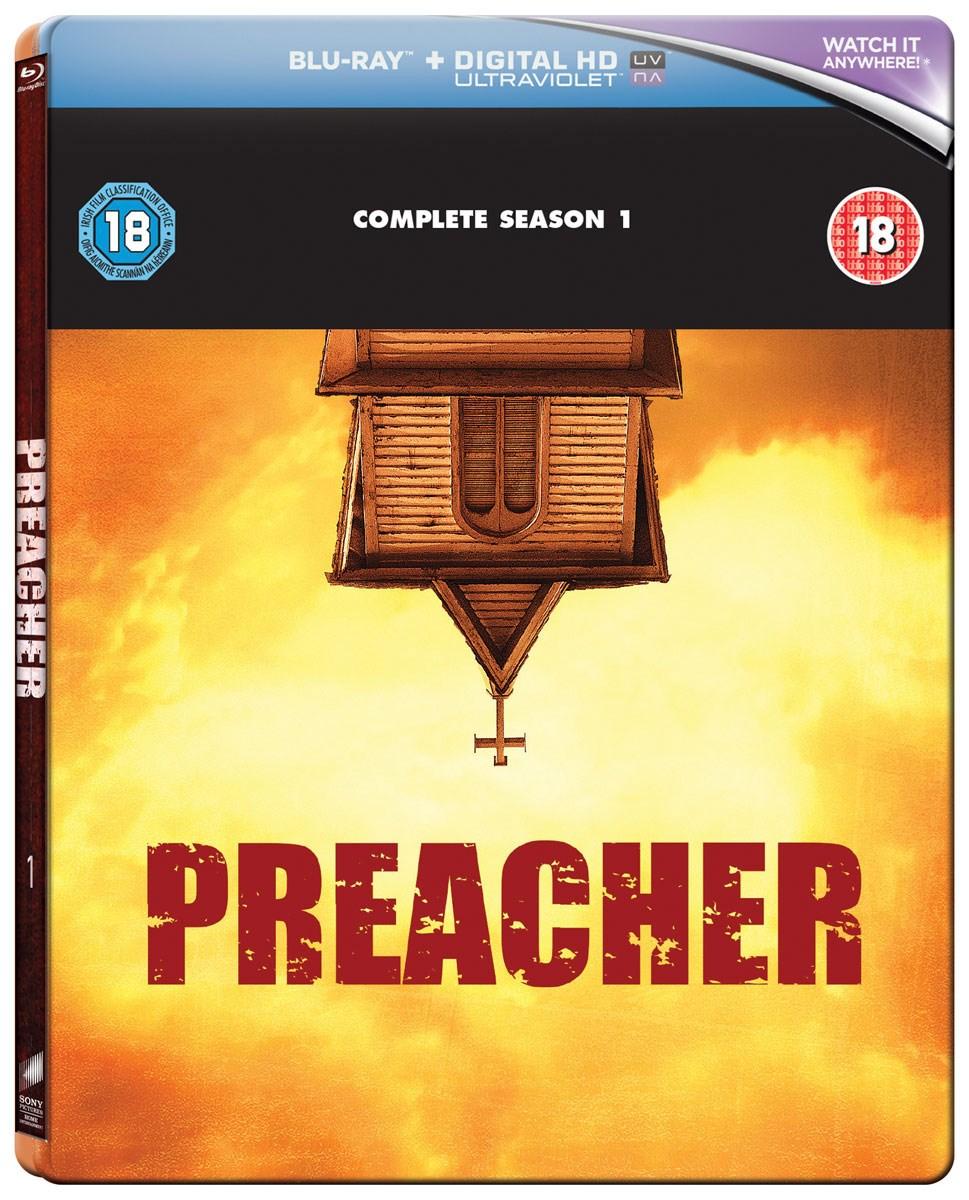 Preacher Season 1 (SteelBook Edition) Blu Ray boxset + UV £4.99 Delivered @ Zoom
