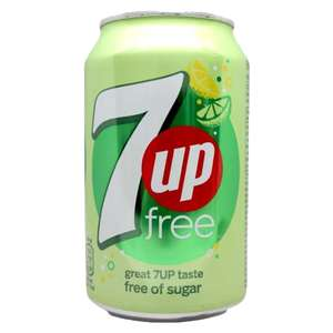 7UP Free Sparkling Lemon and Lime Drink Cans, 24 Pack, 330ml for £5.26 @ Costco Wembley
