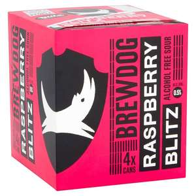 Brewdog Raspberry Blitz 4x 330 craft ale - £1.80 instore @ Tesco Hayes Bulls bridge.