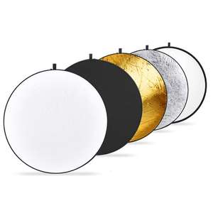 Neewer 43-inch / 110cm 5-in-1 Collapsible Multi-Disc Light Reflector + Bag £7.20 Prime /  £11.69 Non Prime Sold by Nashes Camspace & FBA