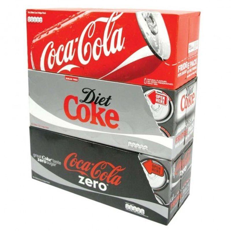 Spar/Eurospar/Vivo/VivoXtra 12 pack Diet/Coke Zero or 10 Coke for £3. *N.IRELAND ONLY*
