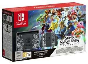 Nintendo Switch Console & Super Smash Bros Limited Edition Bundle - £265.49 (With Code) @ eBay / Argos