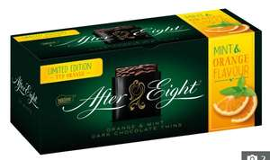 NEW After Eight Dark Chocolate Mint and Orange 300g £2 at Asda Instore (National)