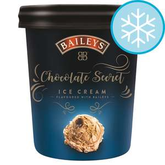 Tesco - Baileys Chocolate Secret Ice Cream 500Ml - £3.00 was £4.50