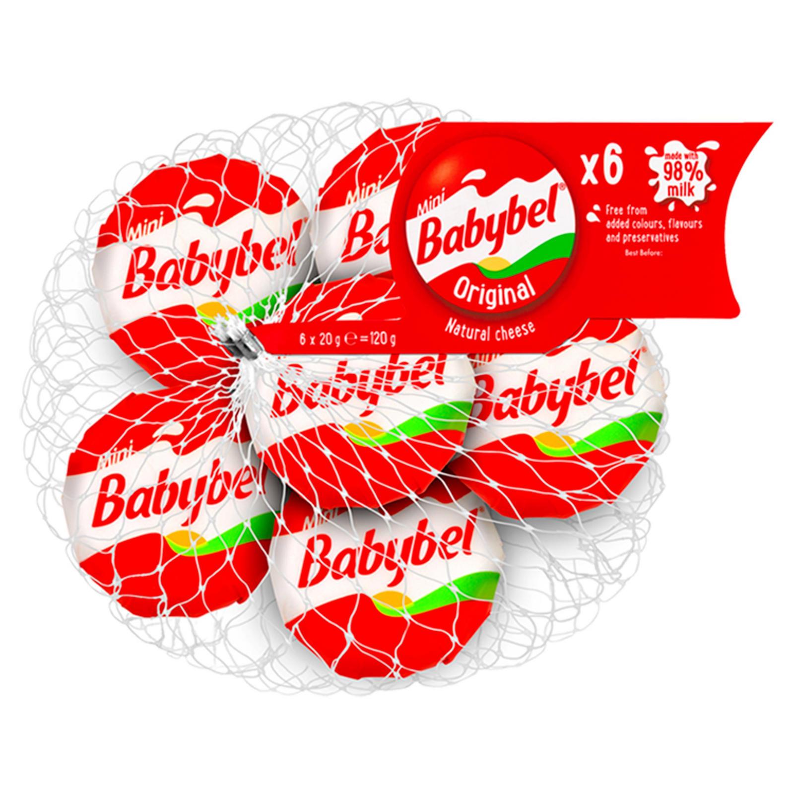 Mini Babybel 6-Pack Now £1 @ Iceland