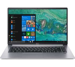 """ACER Swift 5 SF515-51T 15.6"""" Intel® Core™ i5 Laptop - 256 GB SSD, Silver - £583 With Code @ Currys (£480 via Visa Offer)"""