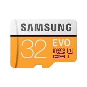 Samsung MicroSDHC EVO Memory Card with Adapter 32GB Up to 95MB/s for £4.82 Delivered @ Cclonline/Ebay
