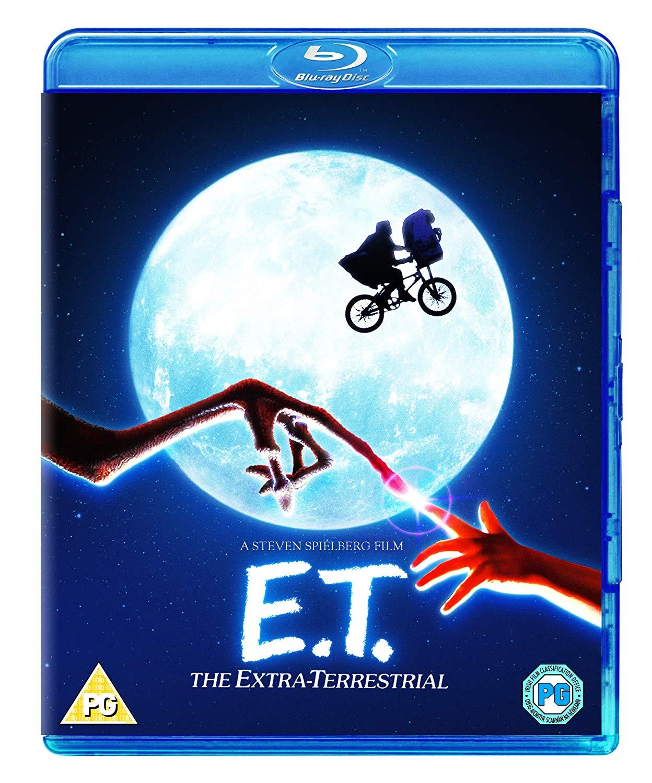 E.T. The Extra Terrestrial [Blu-ray] [Region Free] - £4 @ Amazon (+£2.99 non-Prime)