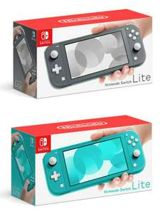 Nintendo Switch Lite console Grey or Turquoise £179.10 with *new code* @ Currys eBay