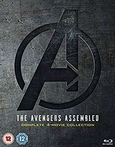 Avengers: Boxset Blu Ray £29.99/DVD £24.99 (Amazon)