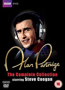 The Alan Partridge Complete Box Set 6 DVD VGC Delivered £2.39 @ World Of Books