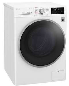 LG F4J6JY1W 10KG 1400 Spin Washing Machine - White with 5 Year Warranty £296.10 delivered with code @ Argos