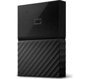 WD My Passport Portable Hard Drive - 4 TB, Black - Currys eBay