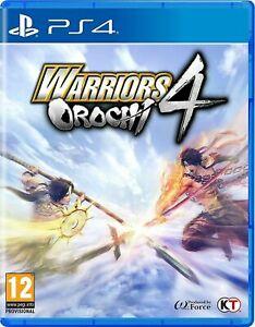 Warriors Orochi 4 PS4 New Delivered @ Evergameuk/eBay £12.87