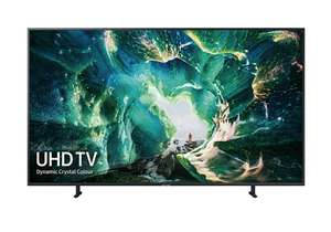 """Samsung UE65RU8000 65"""" Smart 4K Ultra HD HDR LED TV with Bixby (2019) at Crampton & Moore for £854.10 (using code)"""