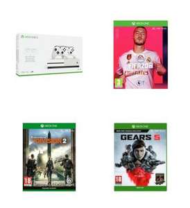 Xbox One S 1TB Console with 2 Controllers, FIFA 20, The Division 2 and Gears 5 - £219.99 @ Argos