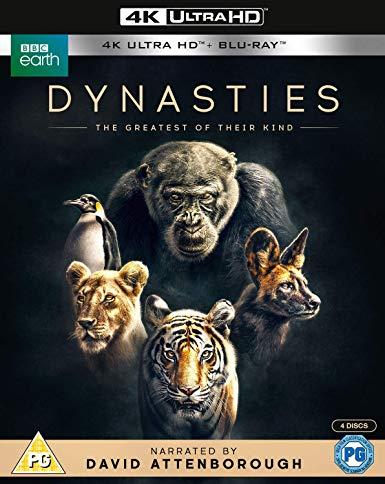 BBC Earth Dynasties 4K Ultra HD Blu-ray now £15.99 (Prime) + £2.99 (non Prime) at Amazon
