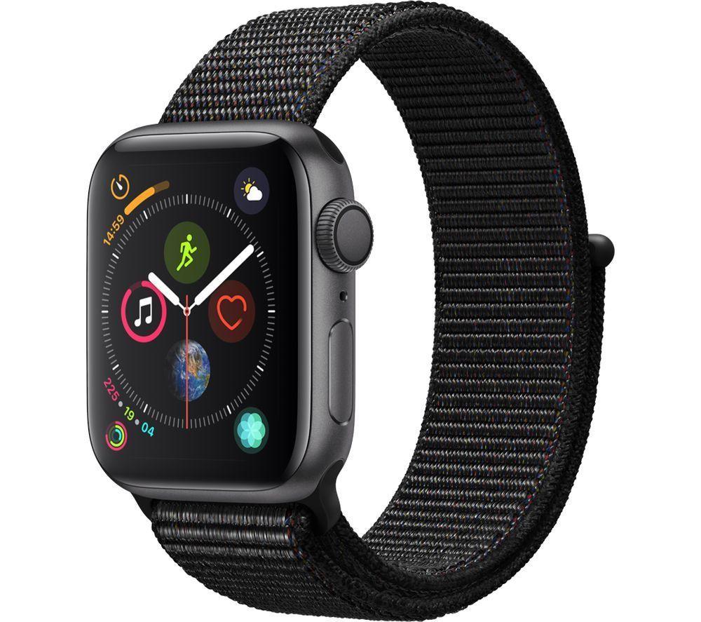 Apple Watch Series 4 - Space Grey & Black Sports Loop, 40 mm £296.10 at Currys/PC World Ebay